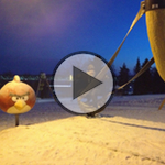 Angry birds and Arktikum museum -20°